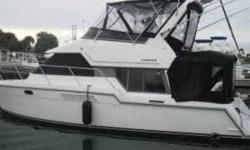 1995 Carver 370 Voyager Pilothouse This Carver 370 with twin 350 h.p. Crusaders has full electronics including Garmin GPS with east and west coast chips,auto pilot and radar. Newly rebuilt engines with only 101 hrs and new transmissions. New Kohler fume