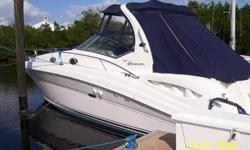 """2007 Sea Ray 340 SUNDANCER This is a one owner vessel, bought and service by our dealership since new. Extended Warranty through 10/10/2013. """"LEAST LIKLEY"""" needs to be on your short list to see. This vessel is extremely clean. Fully loaded with all the"""