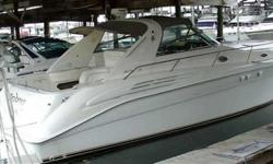 1998 Sea Ray 450 SUNDANCER Fantasea is by far the finest example of the Sea Ray 450 Sundancer yet built.Make no mistake, this is a BIG boat!! Re-designed in 1998 with a new interior the Sea Ray 450 Sundancer was one of the largest sport cruisers available