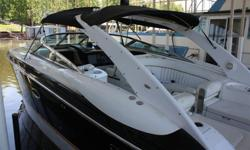 2002 Cobalt 360 36' 0' Cruiser is one of the largest Cobalt ever built. Cobalts flagship combines luxury, sport and performance like no other boat of its kind. Complete with teak pkg, entertainment systems and style, it is powered by twin Volvo Penta 8.1