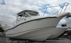 """2010 Boston Whaler 285 CONQUEST Own """"The Legend"""". Rare trade-in Boston Whaler 285 Conquest. 1 Owner, 395 hours on twin 250 Verados. Garmin 4212 & VHF. Stored in Yacht Club high and dry. Will not last. For more information please call: (888) 816-6651 or"""