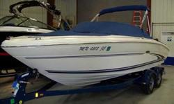 2001 Sea Ray 210 BOW RIDER Sea Ray's luxurious 210 Bow Rider is packed full of features. Storage everywhere. Cooler built into the dash. Stereo Remote at the helm. Full Instrumentation. Door at helm and Walk-Thru Windshield closes off bow area. Rear Seat