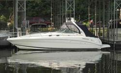 2005 Sea Ray 36 SUNDANCER PRICE RECENTLEY REDUCEDDeluxe freshwater cruiser with roomy cockpit, posh interior delivers near perfect balance of performance and amenities. Midcabin interior with cherry cabinetry throughout the interior gets high marks for