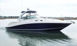 2007 Sea Ray 340 SUNDANCER Welcome to MarineMax Wrightsville Beach, North Carolina. OUR TRADE!! This 2007 Sea Ray 340 Sundancer is one of the best Sea Rays ever built. Powered by twin MerCruiser 8.1 Horizon (370HP). Fresh Water Cooled. Our 340 is Hands