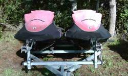 2 Seadoo Wake Editions with trailer and covers. Call 239-848-5742Listing originally posted at http://musthaveautos.com/addetails.php?slno=10609