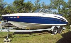 Coastal Marine Center, Inc. Yamaha Located in Nokomis, FL. Call Coastal Marine at 888-459-0227 or email (click to respond) for more information. With Gas twin-jet, 4 stroke, 110HP, 20 valve fuel injected, Yamaha engines, ski hook, bimini, full cover,