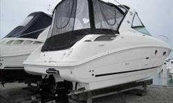2010 Sea Ray 310 SUNDANCER One of Sea Ray's newest models - this 310 Sundancer only has 75 hours and factory warranty is still in effect! Fire up the cockpit grill and have a party. The boat is option rich - chartplotter, SmartCraft vessel view,