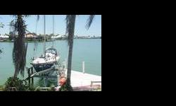 """35' allied Seabreeze 1966 Yawl design. With centerboard keel 3'1.0"""" shoal draft. 30HP Westerbeke diesel, gas stove and oven. Engine driven refridgeration(Grunert). stainless steal winches eight sails, and Autopilot . Contact: Captain Corey for more"""