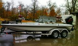 Length: 20.0 feet Year: 2002 Make: Ranger Model: 205VS Single, Gas, Outboard, Trolling motor, Depth finder, Batteries, Charger, Bait well, Live well, Rod holders, Trailer. If interested please contact Jerry at 218-820-1770