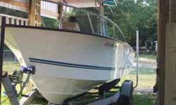 2004 Key West Key Largo, Engine: 200 HORSEPOWER Yamaha, Length: 23.6, Exterior: White, Interior: White, outboard engine, fish finder, depth finder, salt water, radio, GPS, two batteries, deck and bilage pump, 110 gallon gas tank, galvanized trailer, ready