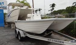 NOW POWERED WITH A 70HP SUZUKI OUTBOARD MOTOR.Add A Trailer To This Boat For $1,750 More!Bring On The Big Stuff! The LV16 Is A Catamaran That Can Perform With Much Larger Boats Because of The Smooth Cat Ride. But, Since The LV16 Runs Fast And Economically