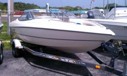 181RS Stingray Bowrider 1997, 75hp Mercury Force Outboard, Trailer, Bimini Top, Rear Seating, Back to back jump seat, Walk through windshield, the carpet and the seating is in like new condition, the boat is in turn key condition and ready for water.