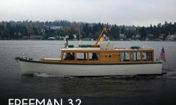 Actual Location: Bellevue, WA - Stock #101878 - If you are in the market for an antique, look no further than this 1936 Freeman 32 Custom Classic, just reduced to $29,999 (offers encouraged).This vessel is located in Bellevue, Washington and is in great
