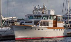 """PRICE REDUCED TO $124,500 FOR CONTRACT BEFORE MARCH 31ST OWNER SAYS """"SELL HER THIS MONTH!"""" Recent Bottom Paint, Transom Paint, Thru Hulls, etc. at PALM BEACH YACHTING CENTER Restored for $500K+ in Late 90s & New Owner spent $80K in 2015-16 The initial"""