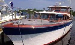 Owners want to encourage all offers Possible partial owner financing available (LOCATION: Titusville FL) This 1957 55' Chris-Craft Constellation is a long term reclamation by a couple who understand and appreciate the heritage they are