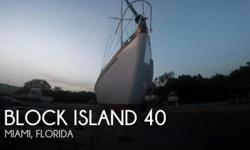 Actual Location: Miami, FL - Stock #109741 - If you are in the market for a racer sailboat, look no further than this 1958 Block Island 40, just reduced to $45,000 (offers encouraged).This vessel is located in Miami, Florida and is in great condition. She