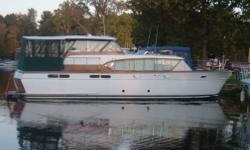 2 BOAT OWNER!!! MOTIVATED SELLER!!!! PRICE REDUCED FOR QUICK SALE!!!! **THIS IS HULL# 48-101 - IT WAS THE FIRST 48' CONNIE BUILT IN 1958!!! SHE IS INDEED A SPECIAL VESSEL!!! This vessel is beautiful and has been 98% restored in the last 5 years. Out