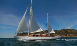 Designed by the famous yacht designer Ben Seaborn with project consultation and sail plan/rig by Sparkman and Stephens, the magnificent 80' wooden ketch fondly known as Tatoosh was built for the Boeing family in 1961. Actor Peter Fonda purchased Tatoosh