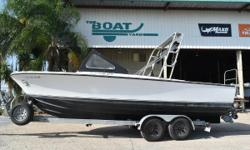 """1964 Bertram 25' Moppie Ready for offshore fishing or diving! Set up as an efficient dive boat! 1964 25' Bertram """"Moppie"""" 2000 Volvo 230 hp diesel Magic Trail tandem axle galvanized trailer $21,995 this boat features: everything redone: fuel pump, raw"""