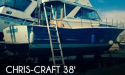 Actual Location: Seattle, WA - Stock #109559 - If you are in the market for an antique, look no further than this 1964 Chris-Craft Sea Skiff 38, priced right at $42,999 (offers encouraged).This vessel is located in Seattle, Washington and is in good