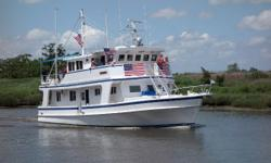 """MajorPrice Reduction! The motor vessel """"Last Chance"""" is a one of a kind luxury yacht that has undergone extensive renovations sparing no expense or convenience. In 1956, James and Vance Gillikin, of Gillikin Brothers Boat Works in Harkers"""