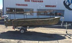 1964 Larson 14' Utility 1980 Evinrude 4.5hp - E5RCSS1985 Spartan single axle trailer