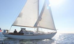 One owner for past 40 years! This classic yacht has been properly cared for, maintained, and upgraded until it's generous owners donated her to the Youth Sailing Foundation of Indian River County Florida. $30k spent on key components during