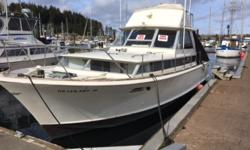REDUCED PRICE 1966 Chris Craft Commander with Flying Bridge JUST REDUCED 10,000 This is an oldie but goldie! Its equipped with an enclosed cabin, full canvas with extra, two engines 347 Ford, new head gaskets, new electrical ignitions, new electrical fuel