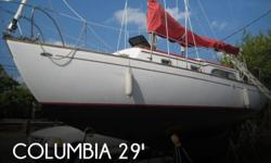 Actual Location: Norfolk, VA - Stock #034837 - If you are in the market for a cruiser sailboat, look no further than this 1967 Columbia 29 S & S Mark II, just reduced to $12,500 (offers encouraged).This sailboat is located in Norfolk, Virginia and is in