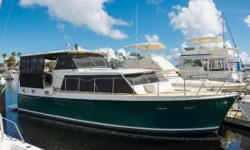 PRICE REDUCTION $10,000 Perfect live aboard with many recent upgrades owned by the same person for 9 years. The previous owner had her for 10 years and she is a very well kept boat. Service records date back 30+ years. Key Features -New