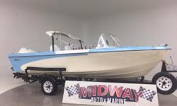 This little boat is in really nice condition! Seats are great! Gel coat is amazing for the age! super fun little boat! Lets go have fun on the water!! Go to our web site for updated info: lovell.midwayautoandmarine. com. Over