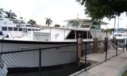 PERFECT LIVE-ABOARD! MOTIVATED SELLER WANTS ALL REASONABLE OFFERS!!! The classic Hatteras Tri Cabin Motor Yacht has a long standing reputation of being a very rugged and seaworthy vessel. They are well suited for long range cruising and living