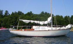 NEW PRICE REDUCTION This Alberg 30 has been here on the lake for the last 6 years. It is here in our yard, and available for viewing. The Alberg 30 is one of the All American classics. It was designed by Carl Alberg and built by Whitby Boatworks in