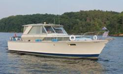 REDUCED TO $34,900 - DON'T MISS THIS BEAUTY 1969 Chris Craft 38 Commander Sedan Cruiser WOW - WOW - WOW!! THIS IS A BEAUTIFULLY MAINTAINED ORIGINAL 1969 CHRIS CRAFT. ALWAYS FRESHWATER. REBUILT KOHLER 7.5kW GEN WITH ONLY 2-HOURS SINCE