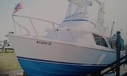 1969 Bertram Yachts Sportfisherman Step right on and head out to your favorite spot on this professionally maintained 1969 Bertram Sportfisherman. 31 feet long and 10 feet wide this boat has plenty of room for you and your friends to fish in comfort. 20