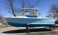 1962 Bertram 25 Moppie Bertram fishing boat Excellent condition 10ft Beam All fiberglass Twin Mercruiser 4 cylinder IO engines One new from 2014 the other new from 2016 Fuel efficient Boat comes with Garmin GPS Koden Recorder Icom VHF Full curtains 94 qt.