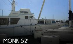 Actual Location: Marina Del Rey, CA - Stock #093392 - This vessel was SOLD on February 2.If you're in the Market for a great live-aboard boat that's centrally located in Marina Del Rey, take a look at this Monk 52' Trawler. Check out the layout of the