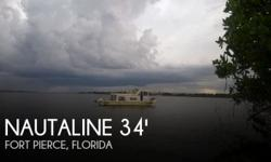Actual Location: Fort Pierce, FL - Stock #098941 - If you are in the market for a house, look no further than this 1970 Nautaline 34 House Boat, just reduced to $22,500 (or best offer).This vessel is located in Fort Pierce, Florida and is in good