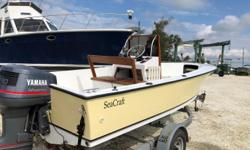 1970 SeaCraft 20 CC powered by a 1996 Yamaha 130 2 stroke, 2001 Sea Lion trailer, Lowrance fishfinder and GPS. Boat was refinished in 2006 and still looks great.