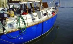 1971 Irwin Yachts 37 Ketch center cockpit with custom spray hood and cover. This vesssel has plenty of room and makes a perfect live aboard or weekend cruiser. The engine has been rebuilt and ready for a cruise. Hull is solid and Awlgrip paint even 10
