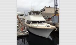 """CURRENT PRICE IS A GUIDE. ALL OFFERS RESPECTFULLY CONSIDERED. General Description  Custom builder Ted Elliott did a superb job! The hull, deck, and superstructure are """"cold-molded"""" plywood, bronze screwed and glued, then covered with thick"""