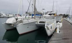 This 1972 Horstman Trimaran Sloop Rig is in excellent condition. Loved by 2 long term owners it was recently sailed from Long Beach to Harbor Island next to the San Diego Airport. Within the past year, it has also undergone thorough maintenance that has