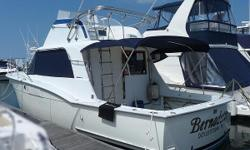 Classic 36 Hatteras Currenly used as Seashore Condo,and light cruising. ntroduced in 1969, the original Hatteras 36 Convertible remained popular well into the 1990s with her overbuilt hull construction. Equally adept as a fishboat or family cruiser, thid