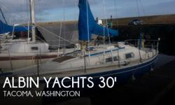 Actual Location: Tacoma, WA - Stock #059820 - If you are in the market for a sloop sailboat, look no further than this 1973 Albin 30 Ballad, just reduced to $10,500 (offers encouraged).This sailboat is located in Tacoma, Washington and is in good