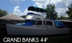 Actual Location: Vachrie, LA - Stock #080384 - Classic GB42 with twin 120's & 2 private stateroomsPowered by twin 120 hp Ford Lehman 120 HP diesel engines, this vessel sips fuel at a good paced cruising speed of 10 mph and has the reserve power to get up