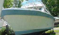 NEGLECTED VESSEL, NEEDS AN ENGINE, HULL SEEMS TO BE IN GREAT CONDITION. Beam: 11 ft. 4 in.