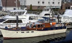 Wild Goose (formerly Aristobatta, formerly Lady Mary Ann) is a 1973 Rampart 48 designed by Horace Desty and built by the Rampart Boat Building Company in the United Kingdom. After thirteen years of ownership and numerous significant upgrades, the sellers