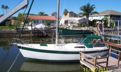 HAVE TO SELL, bought new Trawler, need room for it, wife said sailboat has to go. This Columbia 34 MKII is cruise & live-aboard ready. Built in 1974; we are second owner. Following are all the NEW updates we have completed in the past year: thru hulls and