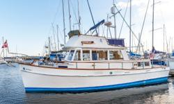 "The 36' Grand Banks Classic is one of the most successful boat designs ever produced, and ""Valhalla"" is a very nice example on the market. Well maintained by her owner, this boat shows very well. With her twin American Marine"