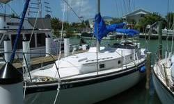 New in 1998 Perkins 4-108 50 hp. New Standing rigging in 1999. Current owner has made many updates in the last 4 years. 11 All new opening Ports, New 16,000 btu Air Conditioning, Heart InverterNew Bimini Top.Also Sellers Boat Slip in Marathon, Florida